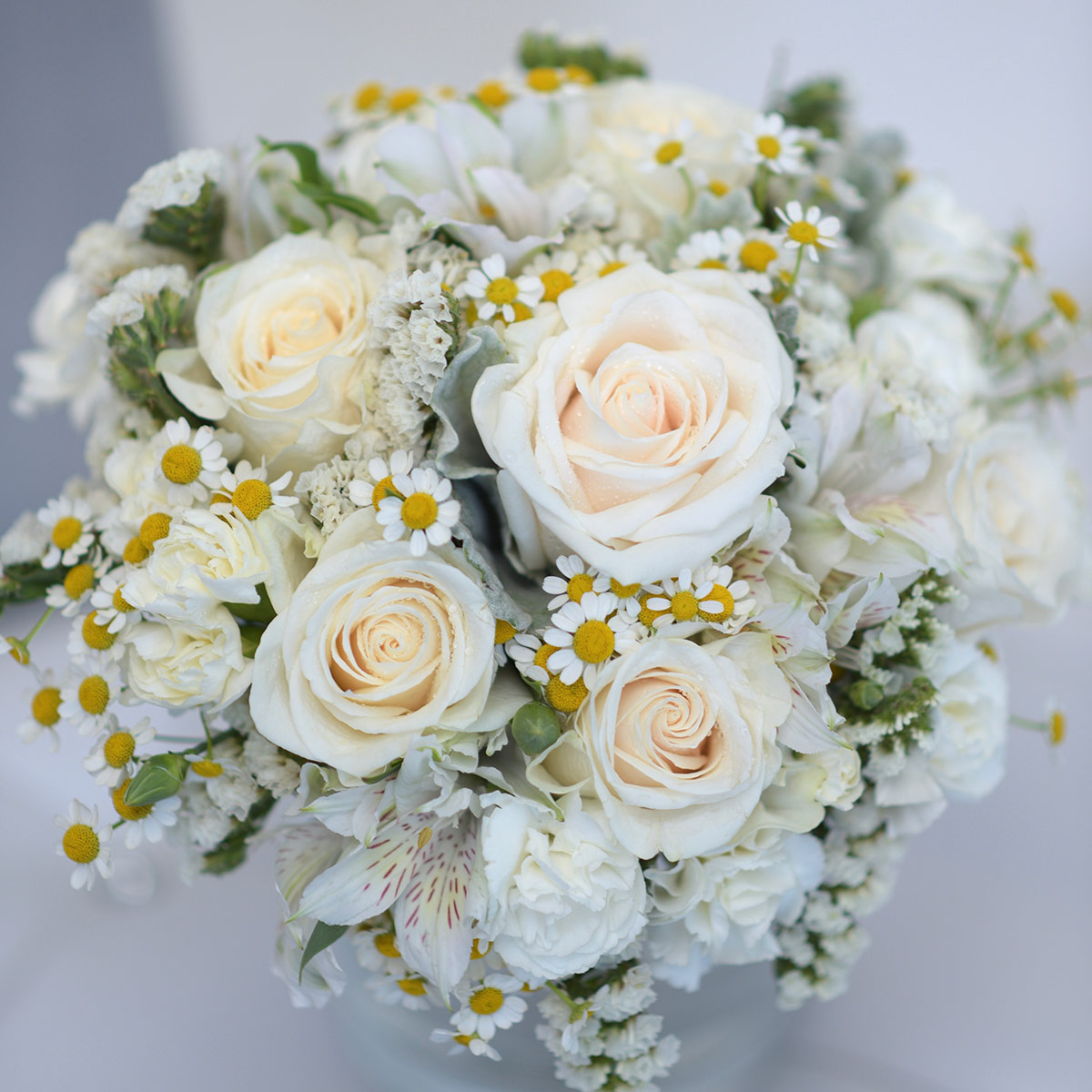 true love wedding chapel bouquets